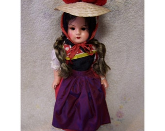 Vintage Doll from the Black Forest of Germany