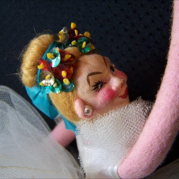 Vintage Roldan Klumpe Style Ballerina Doll