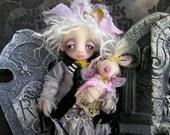 OOAK Gail Lackey Victorian Gothic Ghost Sculpted Doll NIADA