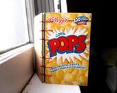 Mini Cereal Box Mixed Paper Coptic Notebook - Corn Pops