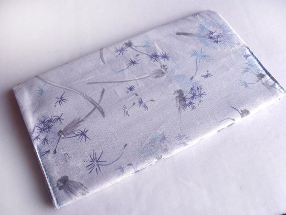 Now with free shipping - 2012 Lavender Dandelion Refillable Pocket Calendar Cover with Calender Included