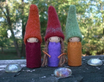 Autumn Gnomes Set of 3