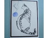 Unique Cat Card Number 2