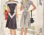 Junior's Summer Dress Pattern from McCall - 1946 - Size 11