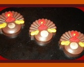 Soap - Turkey - Thanksgiving Turkey Soap - Vanilla Hazelnut, Gingerbread & Spice, or Almond Scented - BigTRanchSoap