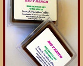 French Vanilla Coffee - Breakaway Melts  - 100% Soy  - Free U.S. Shipping - Tarts - Highly Scented