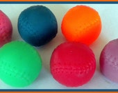 Soap - Set of 4 - Baseballs - Soap for Men and Boys - Party Favors  - Gift for Dad