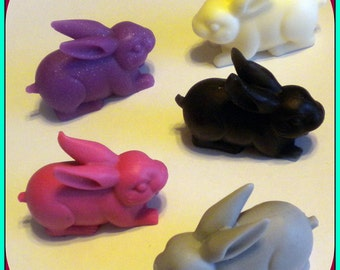 Easter Soap - Bunny Soaps - Set of 3 - Animal - Rabbit - Party Favors