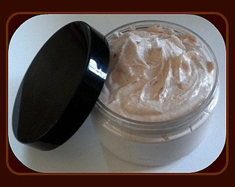 Banana Nut Bread Whipped Soap - Soap in a Jar - 4 oz