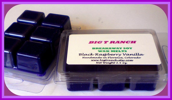 Black Raspberry Vanilla - Breakaway Melts - Tarts - Highly Scented