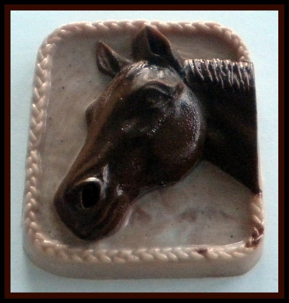 Horse Soap  - Horse Soap - You Choose Colors and Scent - Horse