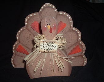 Tom Turkey Napkin Holder