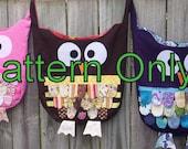 Owl Tote PDF Pattern