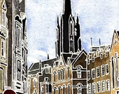 Edinburgh 101.3 Downtown Print