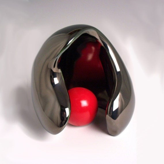Mother's Day Special - Mother and Child  Silver \/ Red