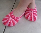 Youth Crochet Slippers, Pdf Pattern
