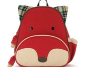 Personalized Skip Hop Backpack for Kids - Fox Zoo Pack