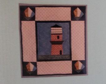 Gay Head Lighthouse, Martha's Vineyard, Massachusetts Wall Hanging Pattern