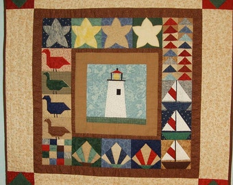 Little Lighthouse Wall Hanging Pattern