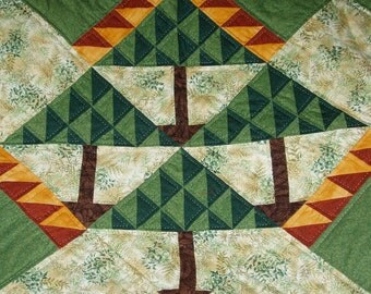 Falling Leaves Wall Hanging or Lap Quilt Pattern