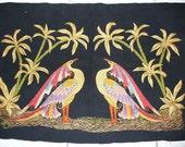 Felt and  Silk Embroidery