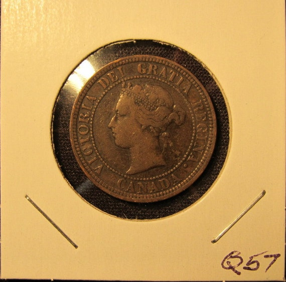 Canada 1881H One Cent Coin