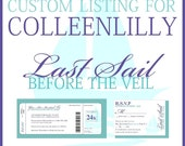 Custom Listing for Colleenlilly