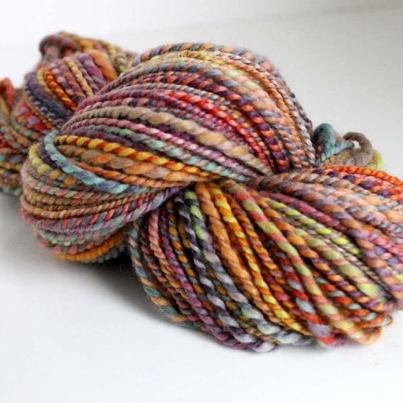 CARNIVAL TWIST - Handspun Merino Yarn 2-Ply