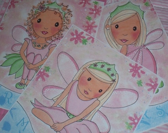 Fairy Princess Pixie Art / Perfect for your little princess / All 3 prints for just 19.99