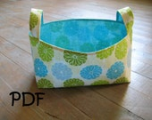 PATTERN for Storage Bins in 3 sizes PDF FQ friendly