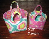 PATTERN for Party Favor Bags in 4 sizes PDF FQ friendly