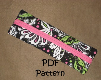 PATTERN for Pencil Bag PDF - New low price!