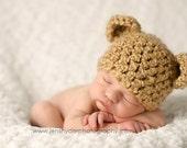 Newborn Honey Bear Hat