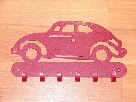 VW Bug KEY RACK Hat Caot Hook Leash Volkswagon Beetle