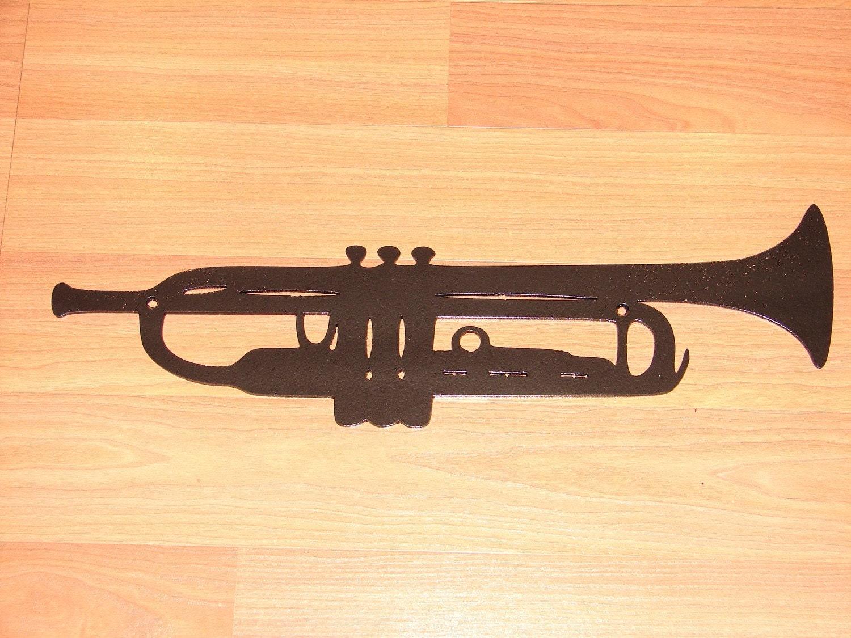 Music Metal Wall Art trumpet metal wall art decor music jazz instrument band