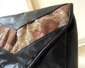 SALE 80'S VINTAGE GOLDEN LACE BAG