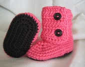 Sizes 0 up to 12 Months - Baby Boots in Your Choice of Colors (EL-0898)