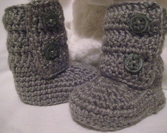 3 to 6 Months - Cute Baby Booties Boots