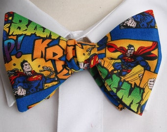 Superman Action  Bow tie