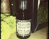 Mouse's Long and Sad Tale: Black Phoenix Alchemy Lab Alice in Wonderland Perfume Oil