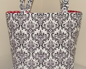 Everyday Tote Bag - Premier Prints - Madison in Black and White