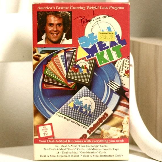 Richard Simmons Deal A Meal Freebie Card