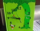 Whimsical and Chic Book Clock