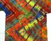 Colorful Zig Zag Tie Dye
