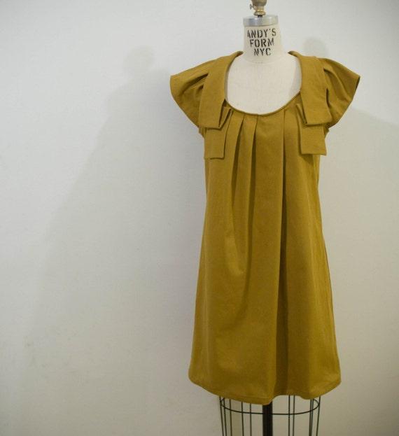 LEMONSTORY Sunset Yellow Shirt Dress