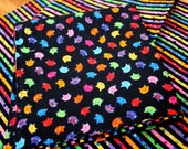 Cloth Napkins - Colorful Cats