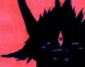 Kiki ACEO - Your average friendly household demon