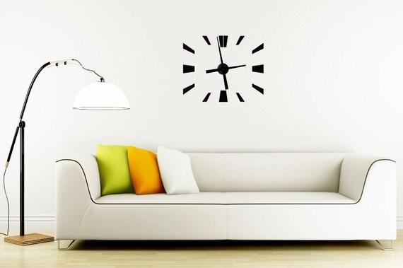 Modern Tick - Vinyl Wall Clock