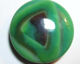 Beautiful Green Agate Stone Pendant