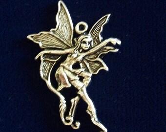 Woodland Fairy Pendant Charm